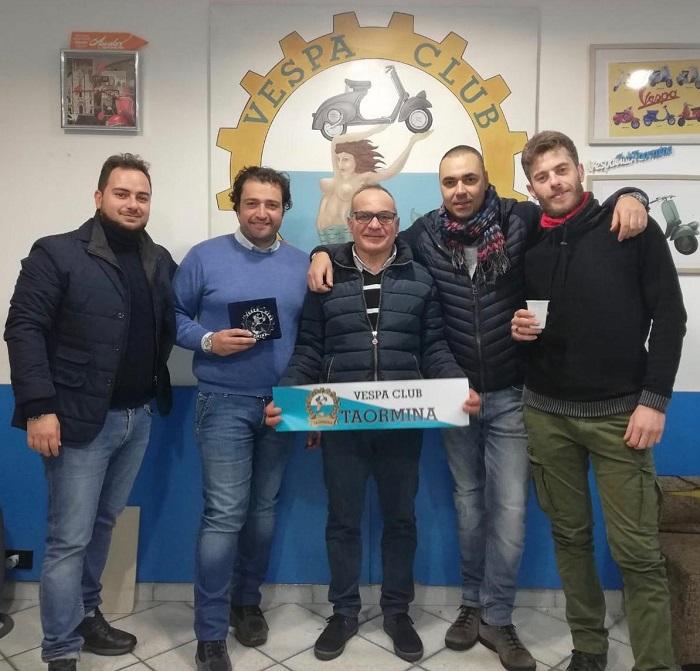 I nuovi consiglieri: Giovanni Giunta, Francesco Cappello, Sebastiano Marino, Antonio Di Stefano e Pasquale Midiri.