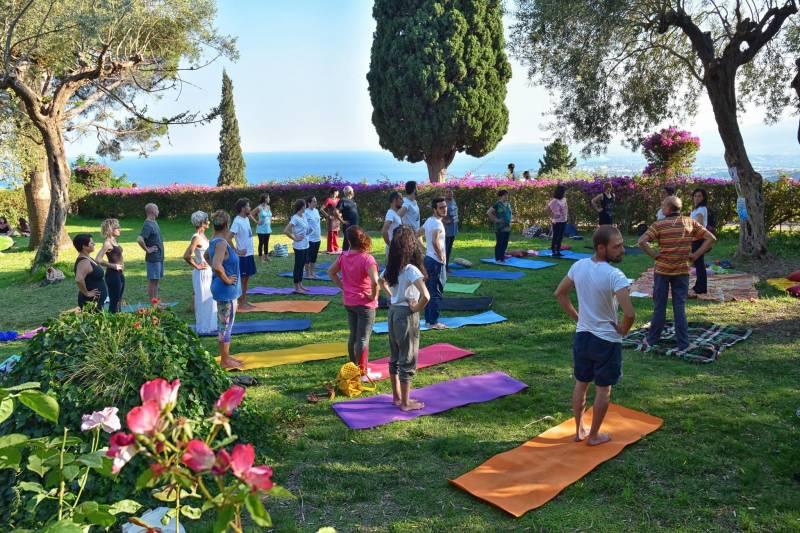 Giornata Internazionale di Yoga, foto di Vincenzo Rao
